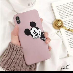 Pink IPhone XR Mickey Mouse Case